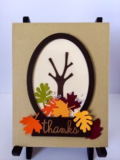 Look what I found on Card made with Paper Smooches Dies Fall Cards, Winter Cards, Discount Craft Supplies, Thanks Card, Paper Smooches, Stampin Up Catalog, Family Crafts, Shaker Cards, Thanksgiving Cards