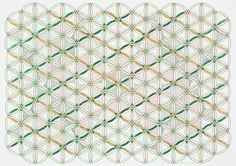 On Hexagon, 2015 - by Monir Shahroudy Farmanfarmanian