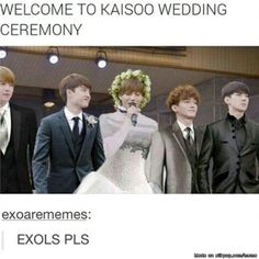 Kaisoo Wedding