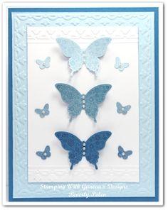 SU Papillon Potpourri Nestabilities Lattice Rectangles Punch Emboss Butterflies