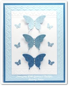 Stampin Up Papillon Potpourri Stamp Set by guneauxdesigns - Cards and Paper Crafts at Splitcoaststampers