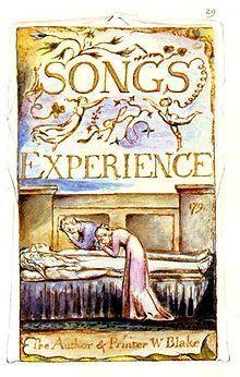 """""""Songs of Innocence and of Experience"""" escrito e ilustrado por William Blake en 1789 es la precursora de los álbumes infantiles ilustrados. Existe una perfecta integración entre ilustraciones y textos.  Échadle un ojo: http://www.rarebookroom.org/Control/blkin1/index.html"""
