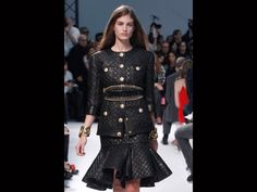 Balmain, 2014 Spring/Summer, 2013 Paris Fashion Week.