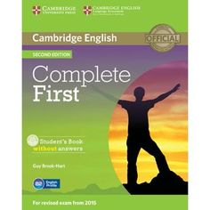 Complete first second edition. Student's book with answers with CD-ROM. Workbook with answers with Audio CD [Lingua inglese] O Level English, English Exam, English Book, Learn English, English Fun, English Study, Vocabulary Exercises, Vocabulary Practice, Grammar And Vocabulary