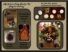 Fairy Garden Kits,garden accessories,gardens,fantasy,fairie furniture