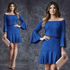 Cute Dresses, Casual Dresses, Casual Outfits, Petite Fashion, Boho Fashion, Womens Fashion, Dress Patterns, Designer Dresses, Cold Shoulder Dress