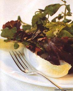 Autumn Greens with Cider Vinaigrette Recipe