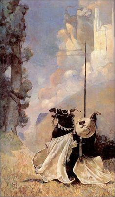 Illustration for article titled R. Jeffrey Catherine Jones, One of Fantasy& Greatest Artists Jeff Jones, Bristol Board, Sword And Sorcery, Medieval Fantasy, Fantastic Art, Art And Illustration, Illustrations Posters, Comic Artist, Larp