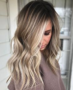 Cool-Toned Bronde Ba...