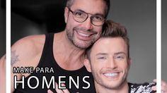 MAKE PARA HOMENS COM MAICON SANTINI. Homem também pode (e deve) usa maquiagem, viu! Por isso, eu convidei o youtuber Maicon Santini pra gente dividir algumas dicas pra uma boa maquiagem masculina.