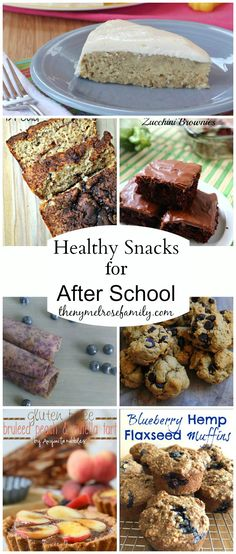 Healthy Snacks for After School