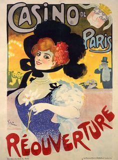 weidenhof casino VINTAGE AD POSTER ernst lübbert GERMANY 1913 24X36 RARE HOT