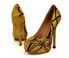 Adriano Diamante Swarovski Shoes