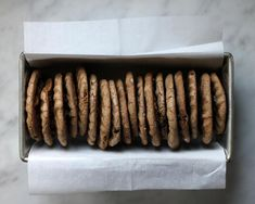 peanut butter chocolate chip teff cookies
