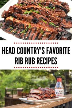 Here are some of our favorite rib rub recipes. Pork Spare Ribs, Pork Ribs, Summer Grilling Recipes, Barbecue Recipes, Rub Recipes, Sauce Recipes, Easy Recipes, Head Country Bbq Sauce Recipe, Grilled Bbq Ribs