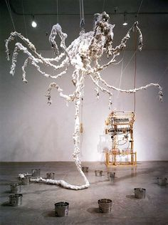 Art & Cake: Studio Visit: Tim Hawkinson, The Indices of the Unknown