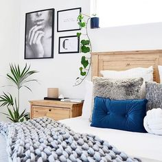 There's no secret Kmart has some ammmmazing new products coming in! Helllloooo blue 'velvet' cushion! : @lauren__smyth