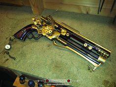 Steampunk pistol