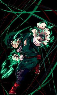 """Midoriya """"Deku"""" Izuku - Boku no Hero Academy Boku No Hero Academia, My Hero Academia Memes, Hero Academia Characters, My Hero Academia Manga, Anime Characters, Manga Anime, Fanart Manga, Anime Demon, Anime Art"""