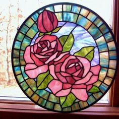 Gallery ‹ Rockledge Glass Design, made from a pattern by Chantal, glass is Youghioghenyt Stained Glass Tattoo, Stained Glass Quilt, Stained Glass Flowers, Faux Stained Glass, Stained Glass Panels, Stained Glass Projects, Stained Glass Patterns Free, Stained Glass Designs, Mosaic Art