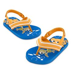 9d773969be8483 Finding Nemo Flip Flops for Baby - Blue Baby Boy Shoes