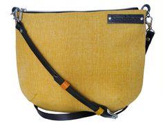 Crossbody bag with genuine leather adjustable strap by bandabag