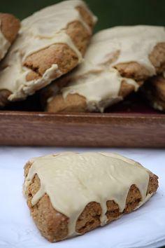 yummy gingerbread scones