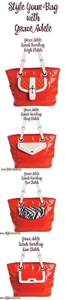 Style Your Orange Bag with Grace Adele  https://samanthagoss.graceadele.us/GraceAdele/Home