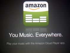 """A company as big as Amazon couldn't even get the simple slogan """"Your Music. Everywhere"""" correct?"""