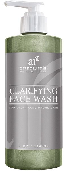 Art Naturals Clarifying Acne Face Wash 8oz- Deep Cleansing and Exfoliation of Acne, Blackheads and Pimples Infused With Cucumber and Aloe for Added Hydration. For all Skin Types for Men and Women. >>> New and awesome product awaits you, Read it now  : Cleansers
