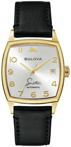 Bulova Unveils Frank Sinatra Collection: Four New Designs On 10 New Watches | WatchTime - USA's No.1 Watch Magazine Seiko Presage, Bulova Watches, Omega Constellation, Young At Heart, Black Accents, Art Deco Fashion, Stainless Steel Case, Blue Eyes, Collection