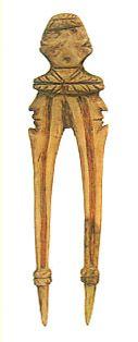 Joumon-era. Hair pin. BC 3,200 - 2,800. Numatsu Miyagi Japan.