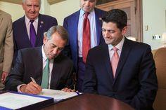 Death Of The GOP: Boehner Endorses Paul Ryan For POTUS