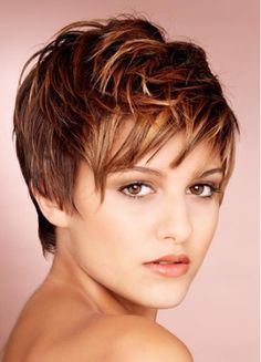 Short hair cuts/color