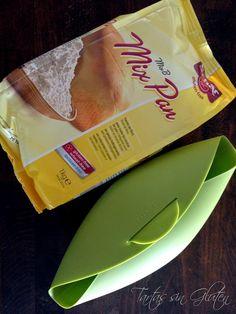 Pan sin Gluten en Estuche Lékué