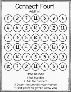 math worksheet : math games for the whole year!  play math games math and plays : Kindergarten Math Games Printable
