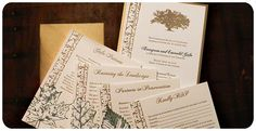 Cairnwood Gala Invitations by Typothecary Letterpress