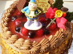 デコレーション・クリスマスケーキ・ガナッシュ苺ベリーベリーチョコレート【30m】20名様以上|美味しそうなスイーツ・ケーキ写真日記