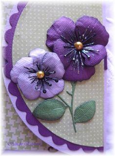 Cheery Lynn Designs Blog: I love Pansies...