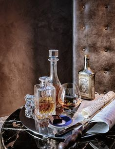 Bruno Tarsia, architect and interior stylist,produces editorial photo shoots… Interior Stylist, Interior Design, Design Design, London Townhouse, Mood And Tone, Cigar Room, Cigars And Whiskey, Drink Table, Handmade Furniture