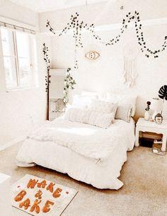 Cute Bedroom Decor, Teen Room Decor, Room Ideas Bedroom, Bedroom Inspo, Teen Bedroom, Bedroom Designs, Dream Bedroom, Decoration Ikea, Aesthetic Room Decor
