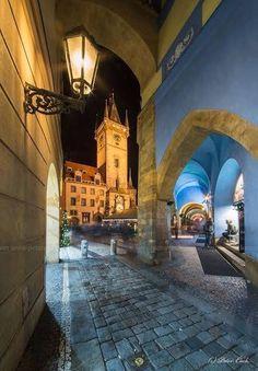Old Town Hall Tower, Prague, Czechia