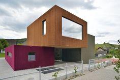 New Weiach Kindergarten by L3P Architekten