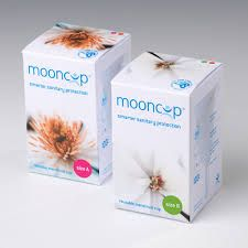 The Mooncup comes in two sizes. Size A & Size B