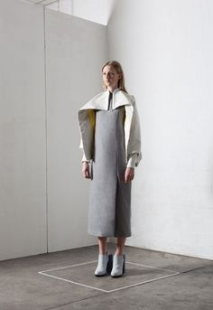 Contemporary Fashion with clean lines & sculpted shapes; innovative pattern cutting // Leoni Barth