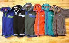 vintage patagonia fleeces