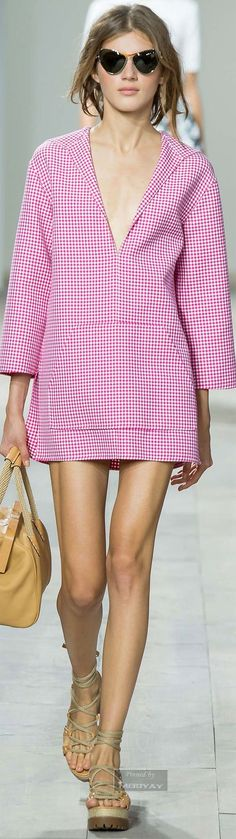 Michael Kors.Spring 2015. women fashion outfit clothing style apparel @roressclothes closet ideas