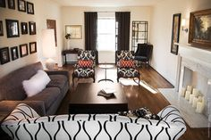 1000 Images About Long And Narrow Room Arrangements On