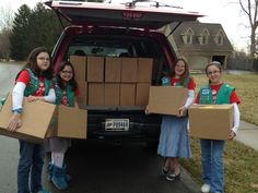 Girl Scout Bronze Award to Help Hungry College Students