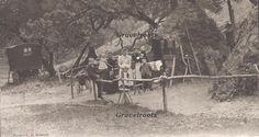 Sussex Charcoal burners Arundel Park Postcard dated archived] donator- Trevor Holden. Original photograph by JS Heward Framed Artwork, Find Art, Woodland, Charcoal, Park, Poster, Cabins, Painting, Outdoor
